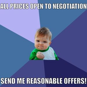 Other - SEND ME YOUR BEST OFFER